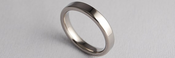 Wedding Band , Titanium Ring , Titanium Wedding Band , Titanium Wedding Ring , Womens Titanium Ring , Promise Ring , The Aphrodite Band