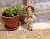 Handmade fabric cloth dolls, pillow dolls, plush dolls, vintage paper dolls, girls, girl, I loye you, boy,