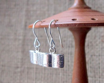 Book of Shadows Sterling Silver Earrings ~ Wicca Wiccan Witchy Spell Book