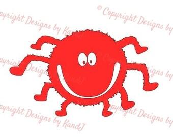 Halloween Spider SVG Spider SVG File  digital cut file Cute Spider svg - Instant Download