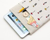 "White Linen Samsung Galaxy Tab Case. Cover for Samsung Galaxy Tab S2. Sleeve for Galaxy Tab 4 7"" 8"" 10.1"" 9.7""."