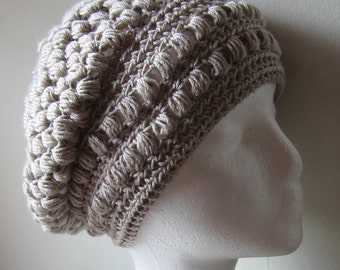 The Maude Slouch Beanie - PDF Crochet Pattern