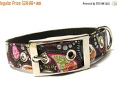 ON SALE Pretty in Paisley Dog Collar