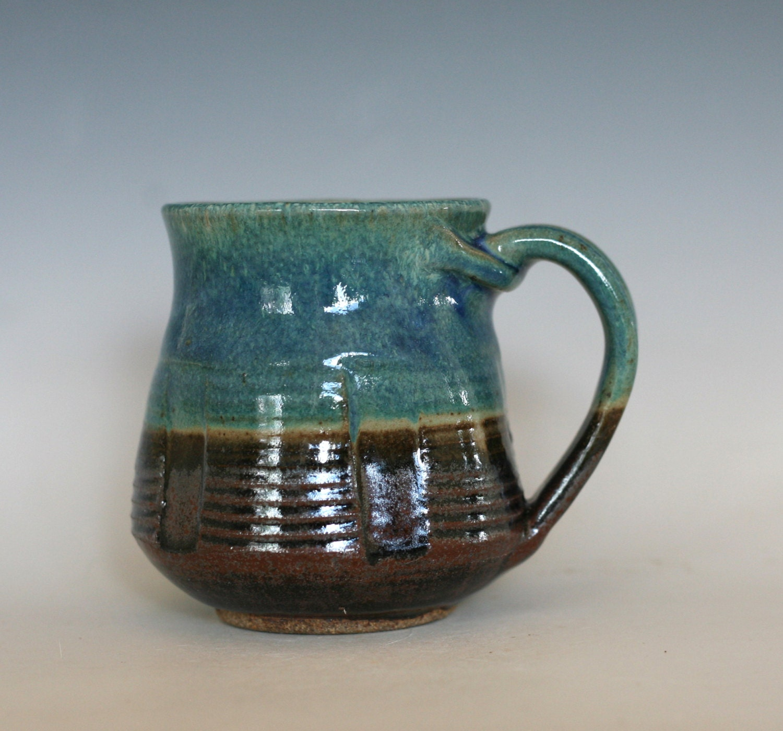 Pottery Coffee Mug Unique Coffee Mug Handmade Ceramic By