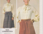 Skirt Pattern A Line With Pockets Misses Size 20 Waist 34 Uncut Butterick 3922