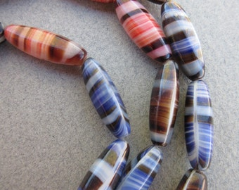 African Tiger Beads