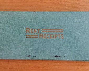 Rent Receipts Book by Springfield Co