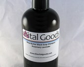 ON SALE Dreadlock shampoo rosemary & lavender Shea Butter Black Soap Shampoo 12oz