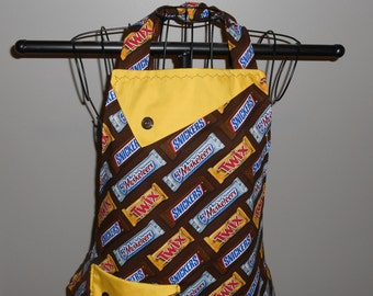 Candy Bars Women's Apron