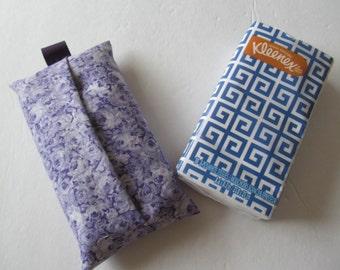 Tissue Case/Pale Purple Rose
