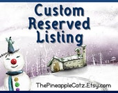 Custom Listing for Anne