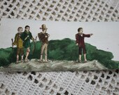 Set of Two Lord of the Rings Original Handillustrated Bookmarks Hobbits and Ring Quote