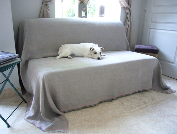 linen couch cover sandy pet couch cover large bedspread