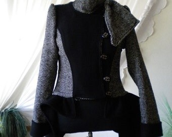 Elegant and unusual ladies coat