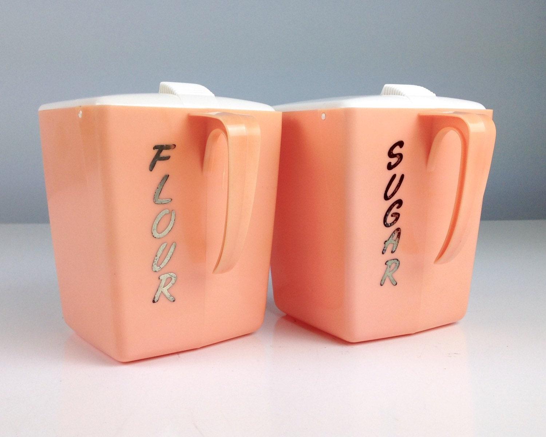 vintage pink canisters kitchen canister set kitchen by retro pink canister set