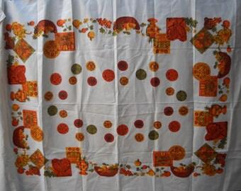 Vintage Tablecloth - Linen