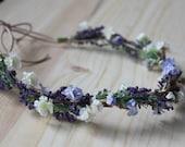 Lavender Blossom Halo