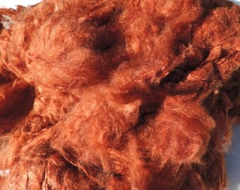 "Pure Mulberry ""Silk Fur""  No Fur Included Spin Blend Felt As Or More Soft Than Fur Hand Dyed Silk Cloud 4 Colors To Pick From 1 Ounce"