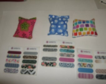 3 Rice Bags and ( 6  Free Nail Wrap Sample Sheet )  Makes A Great  Stocking Stuffer Or Gift Idea Free Shipping By Terrys Country shop