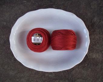 DMC Perle Cotton 8 Reds