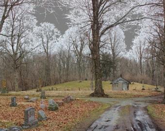 "Art Photo of Huntsville Cemetery 11"" x 14'"
