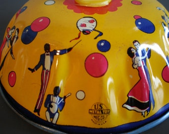 Vintage Mid Century Party Tin Noise Maker