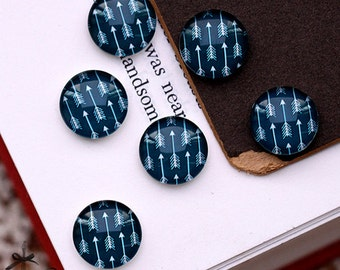 10mm 12mm 20mm 25mm 30mm  Handmade Photo Glass Cabochon -(HPGC-A13)