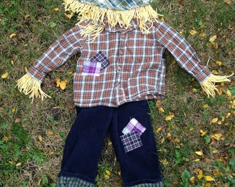 Scarecrow Costume size 18months
