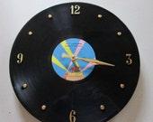 OZZY OSBOURNE SPEAK of the Devil record clock