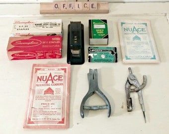 Vintage Office Supplies | Mad Men