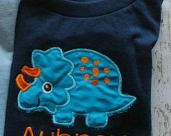 Dinosaur Personalized Shirt or Bodysuit