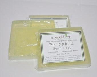 Be Naked Unscented Hemp Glycerin Soap