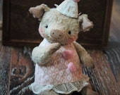 Sewing Pattern For 6,5 Inch Pig PDF