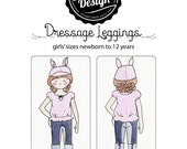 Dressage Leggings Pattern