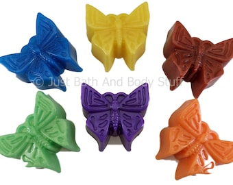 BUTTERFLY Soap Bar 2 oz - You pick color & scent