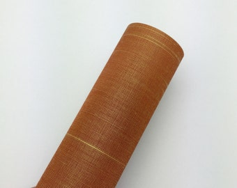 Butterscotch - Book Cloth Swatch - Asahi Book Cloth