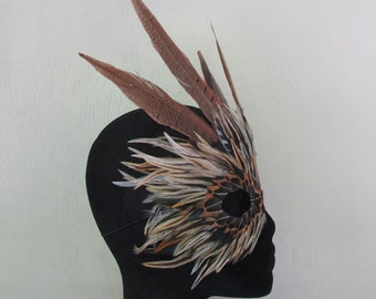 Tiger Feather Winged Mask 5