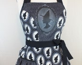 Witch Cameo Kitchen Apron