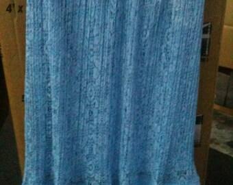 Lace skirt large no flaws/Long/ruffled hem