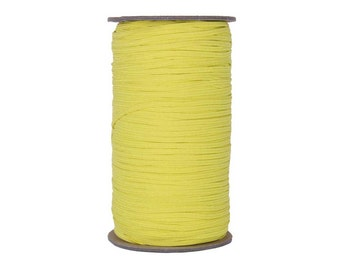 "Bright Yellow Skinny Elastic 1/8"" 288 Yard Roll"