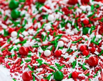 MERRY MERRY (GF) Sprinkle Medley, Holiday Sprinkles, Christmas Sprinkles, Sweetapolita
