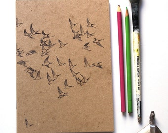 Sketchbook/Jotter - Flying Geese