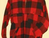1950s ,60s  Vintage L L Bean Buffalo Check Men's Jacket Size 40