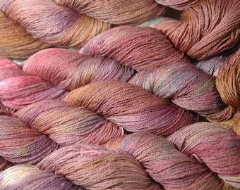 SAKURA Silk Merino Lace in Autumn in the Air - One of a Kind