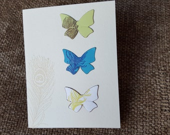 Die Cut Butterfly I'm Sorry Card