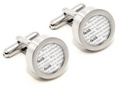 Faith Cufflinks - Inspirational Fashion Accessories - With Gift Box