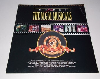 1990 - The Best From the MGM Musicals - Soundtrack - LP Vinyl Record - Judy Garland / Wizard of Oz / Fred Astaire / Gene Kelly