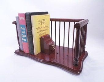 Adjustable Book Shelf Peg Block Storage System Vintage 80s