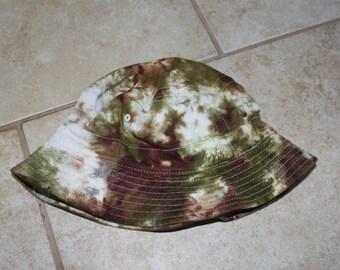 Tie Dye Camo Bucket Hat