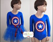 CHILD --Captain America---(Leotard only)